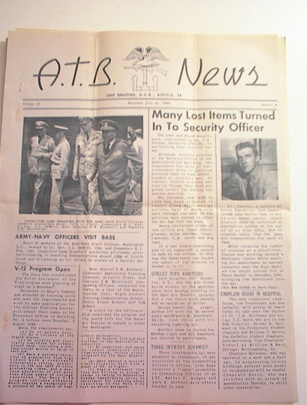 A.T.B. News,7/22/1944,Vol.II No.6.
