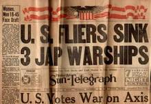 WWII Newspaper-Pgh Sun-Telegraph ; Dec 11, 1941