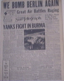 Pittsburgh Sun-Telegraph,1944,We Bomb Berlin Again