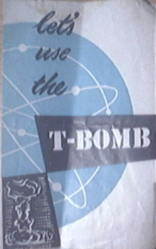 Let's Use The T-Bomb Pamphlet 1940's