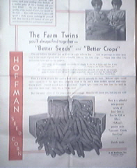 Hoffman Seed and Corn Catalog April 9,1931