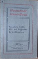 c1930 Rumford Chemical Works Household Hand Book