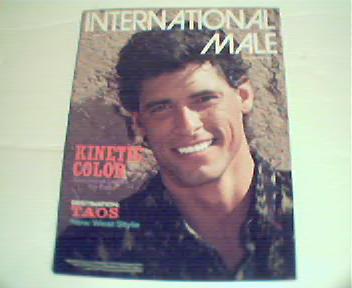 International Male-Fall/Winter 87'-Kinetic Color, Taos!
