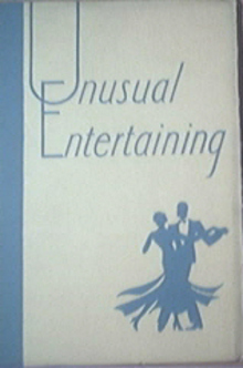 Unusual Entertaining Issued by McCall's Magazine,1929
