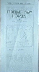 Federal Hi-Way Homes Private Homes List 36th Edition