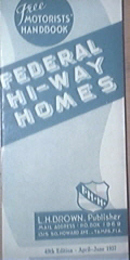 Federal Hi-Way Homes Private Homes List 49th Edition