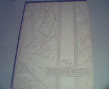 1940 Aquila Annual from Snowden High School!