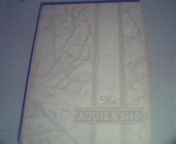 1940 Aquila Annual from Snowden High School!