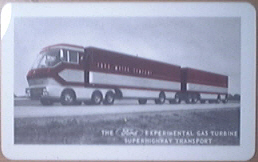 FORD Experimental Gas Turbine Superhighway Transport