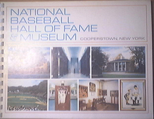 National Baseball Hall Of Fame & Museum Cooperstown