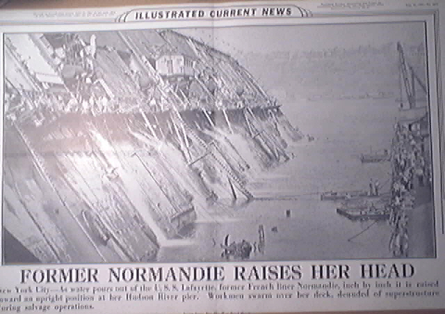 Illustrated Current News 8/11/1943 U.S.S. Lafayette