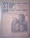 c1940 STOP! LOOK! READ! The King Sisters cover