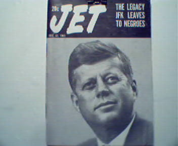 JET-12/12/63- Legacy JFK Leaves to Negroes