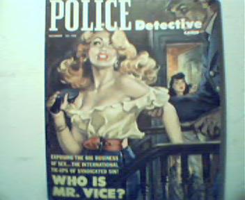 Police Detective-12/52-Preistess of Sin,Devil
