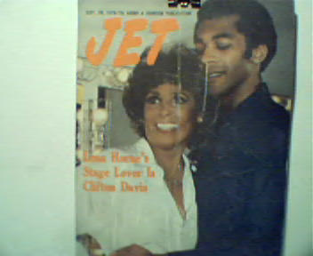 Jet-9/28/78-Lena Horne and Clifton Davis!