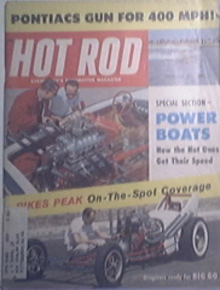 HOT ROD 9/1959 4 Pontiacs Gun for 400MPH