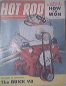 HOT ROD Magazine 8/1954 The Fabulous NOVA