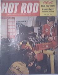 HOT ROD Magazine 5/1955 Hydraulic Lifters, Nerf Bars