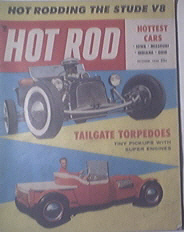 HOT ROD Magazine 10/1955 Grand Opener At K.C.