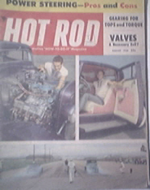 HOT ROD Magazine 8/1956 Big Gears for Any Engine