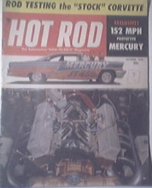 HOT ROD Magazine 10/1956 Road Testing a