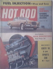 HOT ROD Magazine 3/1957 Thunderbug Roadster
