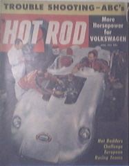 HOT ROD Magazine 4/1957 Volkswagen to