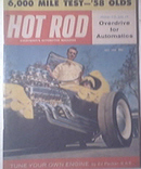 HOT ROD Magazine 7/1958 Overdrive for Automatics