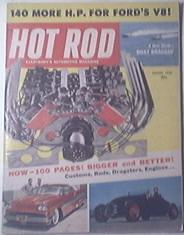 HOT ROD Magazine 8/1958 Adias Yo-Yo