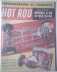 HOT ROD Magazine 7/1960 Supercharging the Compact