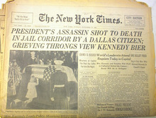 The New York Times,11/25/63,Burial of JFK