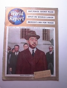 World Report,12/9/1947,Emperor HIROHITO cover
