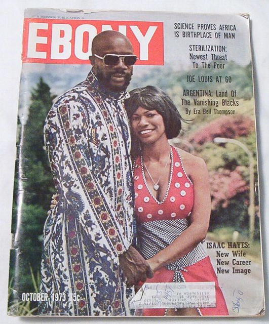 Ebony Oct.1973 Joe Louis at 60, Argentina, Isaac Hayes