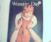 Womans Day 10/1950 Are You Too Modest?Pearls,More!