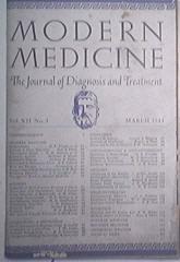 Modern Medicine 3/1944 Hodgkin's Disease