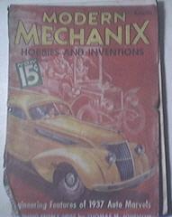Modern Mechanics 12/1936 Engineering 1937 Auto Marvels