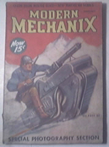 Modern Mechanics 2/1938 Color Films, Glass Cloth
