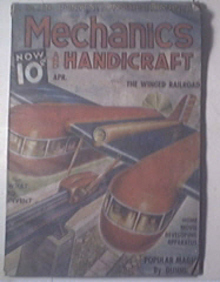 Modern Mechanics and Handicraft 4/1937 Winged Railroad