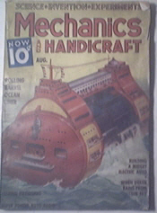 Modern Mechanics and Handicraft 8/1937 Rolling Ocen Lin