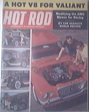 HOT ROD Magazine 10/1960 Modifying GMC Blower for Race