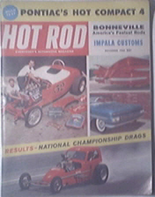 HOT ROD Magazine 11/1960 IMPALA Customs