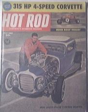 HOT ROD Magazine 7/1961 315 HP 4-Speed Corvette