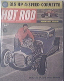 HOT ROD Magazine 7/1961 315 HP 4-Speed Corvette