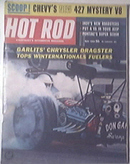 HOT ROD Magazine 5/1963 Chevy's NEW 427 Mystery V8