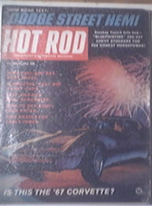 HOT ROD Magazine 12/1965 Dodge Street HEMI