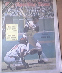 The Sporting News 4/28/1973 Chris Speler Cover