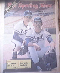The Sporting News 5/12/1973 Fred Patek and Cookie Rojas
