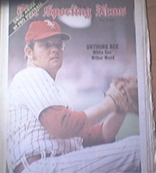 The Sporting News 6/2/1973 Wilbur Wood Cover