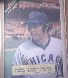 The Sporting News 6/23/1973 Cub's Ron Santo Cover