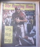 The Sporting News 12/15/1973 Atlanta Falcon's Bob Lee